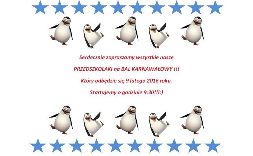 Bal Karnawałowy Przedszkole Integracyjne Nr 39 W Lublinie
